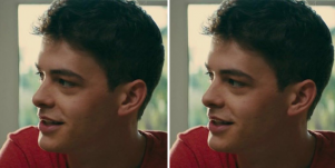 Who is Israel Broussard's girlfriend?