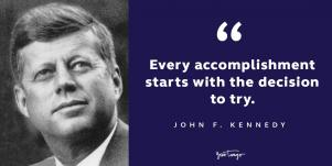 john f kennedy president's day quote