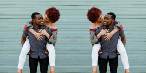interracial dating couple love