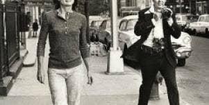 Jackie O with photographer Jackie Kennedy Onassis