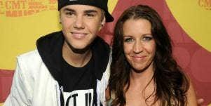 Justin Bieber and mother Pattie Mallette