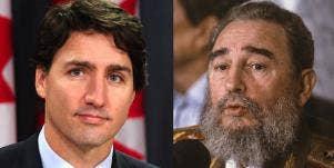 Justin Trudeau Might Be Fidel Castro's Son