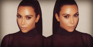 kim kardashian double
