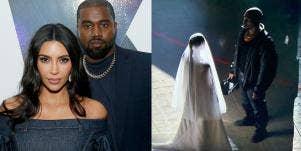 Are Kim Kardashian And Kanye West Back Together? Kimye Recreate Wedding At Donda Listening Party