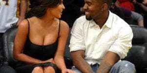 Kim Kardashian and Kanye West dating