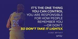 Kobe Bryant Quotes On Hard Work