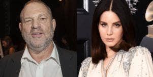 Harvey Weinstein and Lana Del Rey