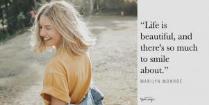 inspirational life quotes, life is beautiful