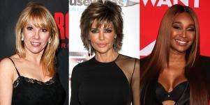 Lisa Rinna, Ramona Singer, and Cynthia Bailey