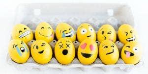 emoji eggs easter egg hunt