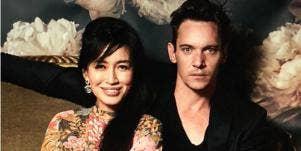 Mara Lane and Jonathan Rhys Meyers