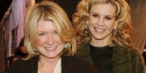 Martha Stewart and Alexis Stewart