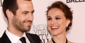 Natalie Portman and Benjamin Millipied marrying