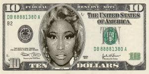 All Those In Favor Of Putting Nicki Minaj On The $10 Bill, Say 'Aye'!