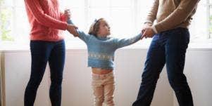 parents fighting over kid