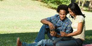 picnic couple