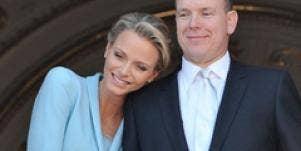 Prince Albert Princess Charlene Wittstock of Monaco