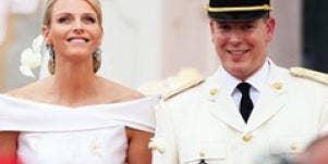 Prince Albert Princess Charlene Wittstock