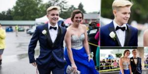 Lesbian student wore tux to prom