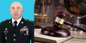 Former US Army Staff Sgt Randall Hughes