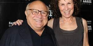 Danny DeVito & Rhea Perlman