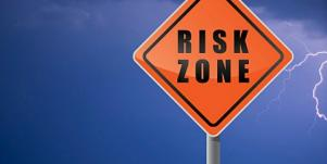 risk zone sign