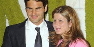 Roger Federer twins Mirka