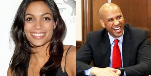 Who Is Cory Booker? New Details Senator Spotted With Rosario Dawson Dating