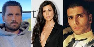 Scott Disick Kourtney Kardashian Younes Bendjima