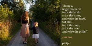 single mom quotes