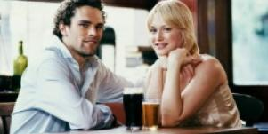 Dating over beer