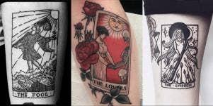 tarot tattoos tarot cards tattoo ideas deep meanings