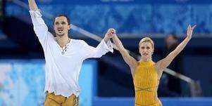 Tatiana Volosozhar, Maxim Trankov, Sochi Olympics