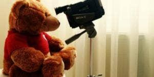 Teddy Bear Videotaping
