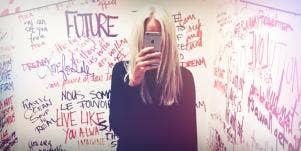 Teen Mirror Selfie