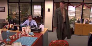 the office dwight and jim christmas wrapping paper prank