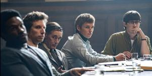 """scene from """"The Trial Of The Chicago 7"""""""