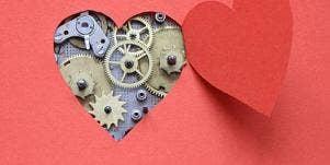 timed heart