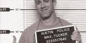 tucker max mugshot
