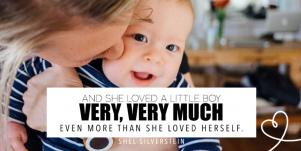 shel silverstein valentine's day quote for son