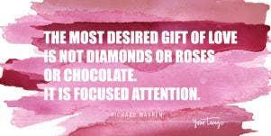 richard warren valentine's day quote