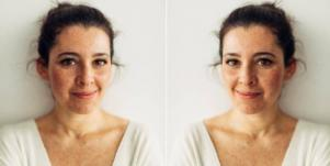 woman smiling improving self esteem