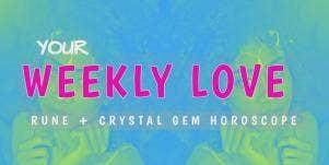 Read Your Weekly Rune (& Crystal) Horoscope Predictions, All Sun Star, Rising, & Moon Zodiac Signs, Nov. 19 - Nov. 23, 2018