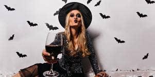 halloween wine
