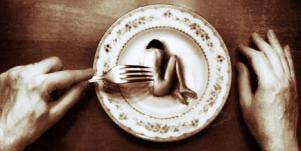 Woman as food