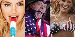 Kate Upton, Ted Nugent & Jessica Simpson