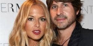 Rachel Zoe and husband