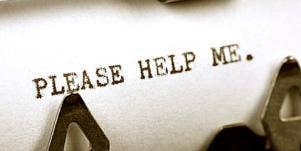 text in typewriter