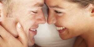 sensual man and woman