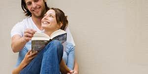 Reading love stories